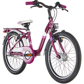 s'cool chiX 20 3-S Alloy Kinderen, purple matt